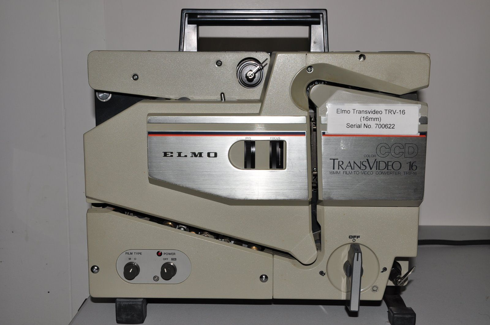 Elmo Transvideo 16mm